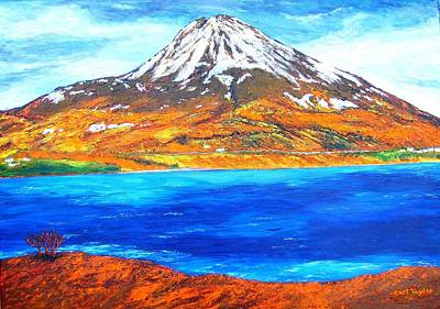 Wall Art - Painting - Mount Errigal by Carl Taylor