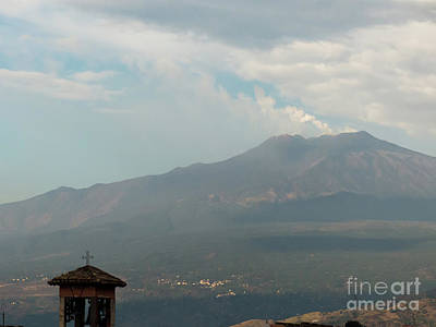 Photograph - Mount Etna by Rod Jones