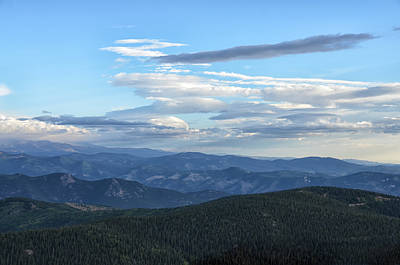 Photograph - Mount Evans 1 by Angelina Vick
