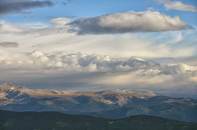 Mixed Media - Mount Evans 4 by Angelina Vick
