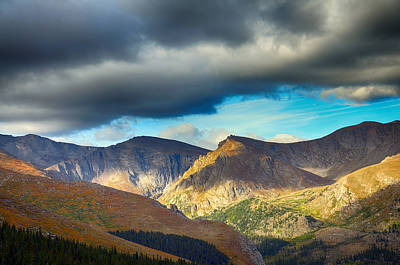 Photograph - Mount Evans Foreboding Skies by Angelina Vick