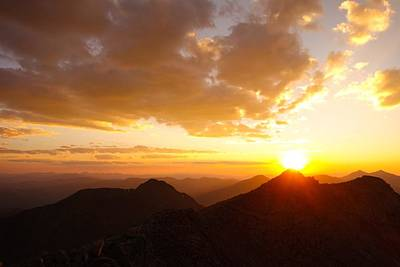 Mount Evans Sunset Art Print