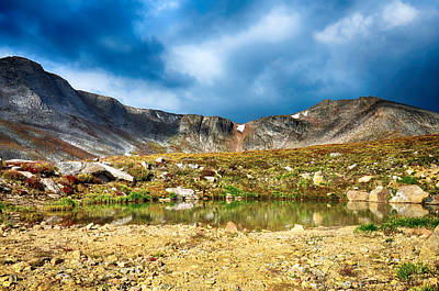 Photograph - Mount Evans Tundra Land by Angelina Vick