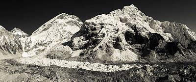 Photograph - Mount Everest Base Camp by Owen Weber