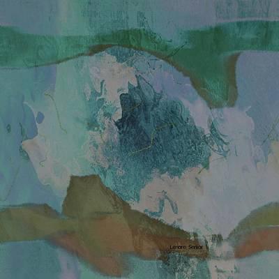 Mount Everest Art Print by Lenore Senior