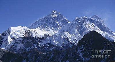 Art Print featuring the photograph Mount Everest Nepal by Rudi Prott
