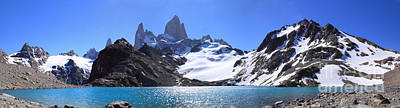 Photograph - Mount Fitz Roy Panorama by Warren Photographic