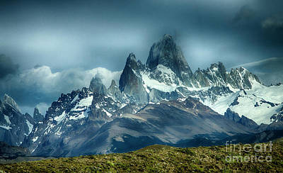 Photograph - Mount Fitzroy Massif Patagonia by Bob Christopher