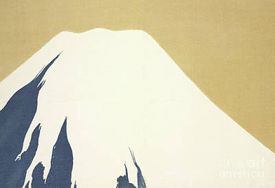 Mount Rushmore Painting - Mount Fuji by Kamisaka Sekka