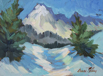 Painting - Mount Goode - Sierra Nevadas by Diane McClary