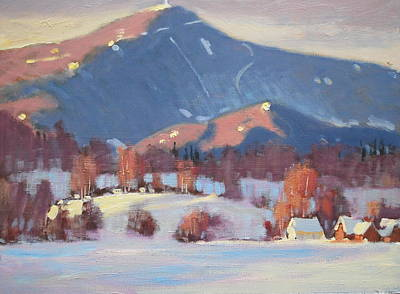 Painting - Mount Greylock And Toporowski Farm by Len Stomski