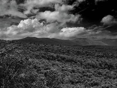 Photograph - Mount Greylock In Black And White by Raymond Salani III