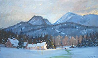 Painting - Mount Greylock by Len Stomski