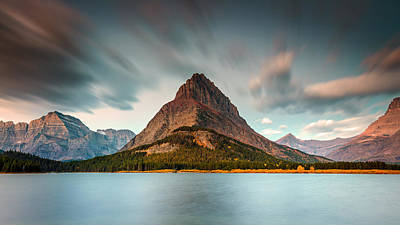 Photograph - Mount Grinnell In Glacier Np by Pierre Leclerc Photography