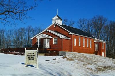 Photograph - Mount Herman Church by Kathryn Meyer