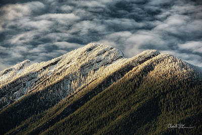 Photograph - Mount Higgins Clouds by Charlie Duncan