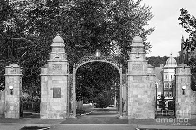 Gate Photograph - Mount Holyoke College Field Gate by University Icons