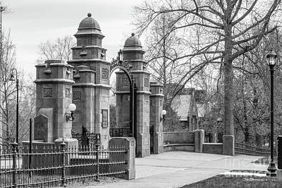 Photograph - Mount Holyoke College Gate by University Icons