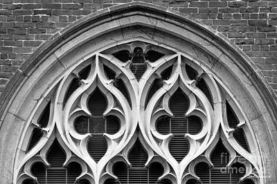 Photograph - Mount Holyoke College Shattuck Hall Detail by University Icons