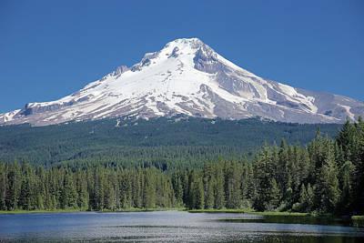 Photograph - Mount Hood 2 by Richard J Cassato