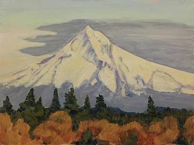 Mount Hood Painting - Mount Hood 6569 by John Teply