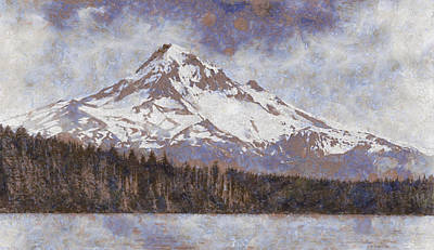 Photograph - Mount Hood From Lost Lake by John Winner