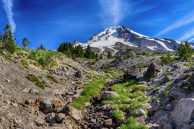Photograph - Mount Hood Oregon Dsc05480  by Greg Kluempers