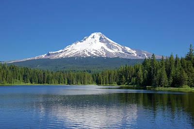Photograph - Mount Hood by Richard J Cassato