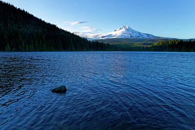 Photograph - Mount Hood View by Jonathan Davison