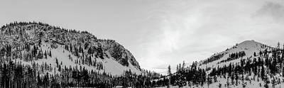 Vintage Uk Posters - Snowy Mountain by Jennifer Mercado