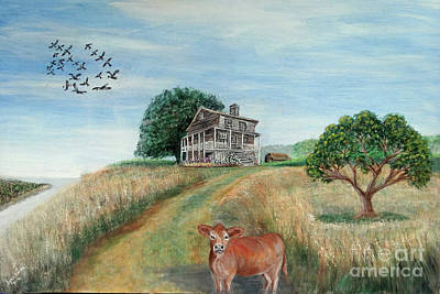 Painting - Mount Hope Plantation by Lyric Lucas