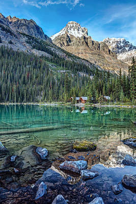 Photograph - Mount Huber At Lake O'hara by Pierre Leclerc Photography