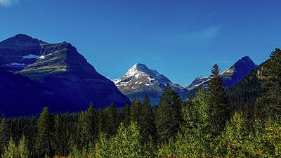 Photograph - Mount Jackson, Glacier National Park by Marilyn Burton