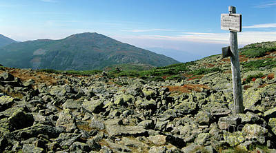 Mount Jefferson - White Mountains New Hampshire  Art Print