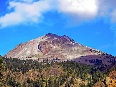 Photograph - Mount Lassen by Frank Wilson