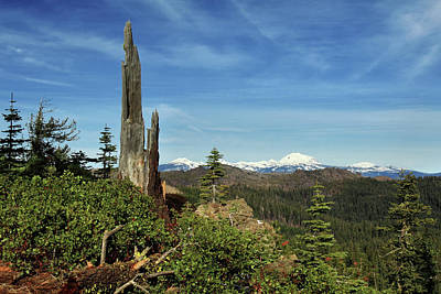Mount Lassen From A Distance Art Print by James Eddy