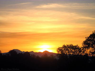 Photograph - Mount Lassen Sunrise 03 23 15 by Joyce Dickens