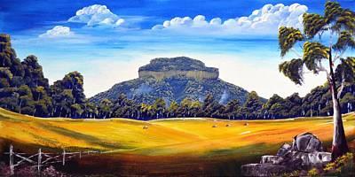 Tresses Painting - Mount Lindesay,australia by Deepa Sahoo