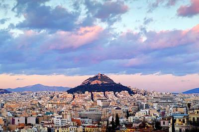 Photograph - Mount Lycabettus by Fabrizio Troiani