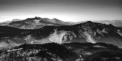 Photograph - Mount Lyell And Clouds Rest by Alexander Kunz