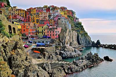 Photograph - Mount Manarola by Frozen in Time Fine Art Photography