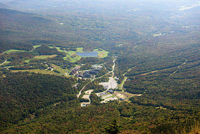Photograph - Mount Mansfield Point Of View by Sherman Perry