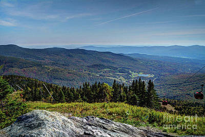 Photograph - Mount Mansfield by Deborah Klubertanz