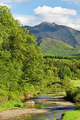 Photograph - Mount Mansfield Spring Scenic by Alan L Graham