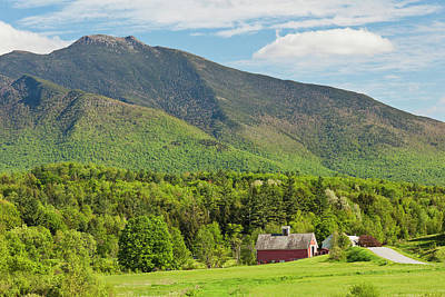 Photograph - Mount Mansfield Spring View by Alan L Graham