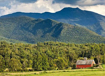 Photograph - Mount Mansfield Summer Scenic by Alan L Graham