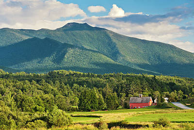 Photograph - Mount Mansfield Summer View by Alan L Graham