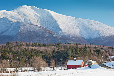 Photograph - Mount Mansfield Winter View by Alan L Graham