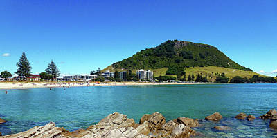 Photograph - Mount Maunganui Beach 10 - Tauranga New Zealand by Selena Boron
