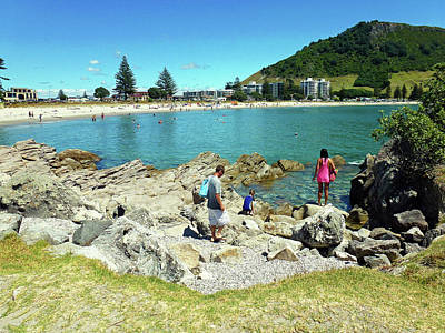 Photograph - Mount Maunganui Beach 12 - Tauranga New Zealand by Selena Boron